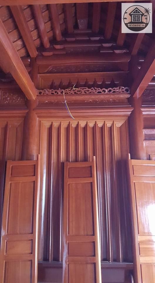 Làm Nhà Gỗ Cổ Truyền đẹp (6)